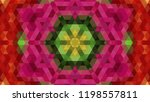 geometric design  mosaic of a... | Shutterstock .eps vector #1198557811