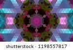 geometric design  mosaic of a... | Shutterstock .eps vector #1198557817