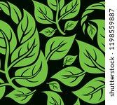 vector seamless floral pattern... | Shutterstock .eps vector #1198559887