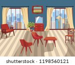 a vivid background with an... | Shutterstock .eps vector #1198560121