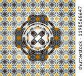 crossed bandage plaster icon... | Shutterstock .eps vector #1198568647