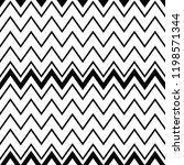 geometric black and white... | Shutterstock .eps vector #1198571344