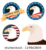 Illustration Of Bald Eagle With ...