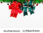 closeup of christmas   pattern... | Shutterstock . vector #1198645444