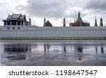 wat pha keaw thai temple  | Shutterstock . vector #1198647547
