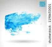blue brush stroke and texture.... | Shutterstock .eps vector #1198653001