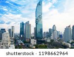 cityscape bangkok building...   Shutterstock . vector #1198662964