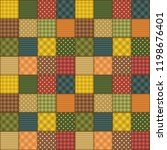 patchwork background with... | Shutterstock .eps vector #1198676401