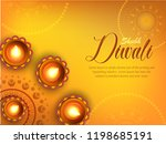 vector illustration or greeting ... | Shutterstock .eps vector #1198685191