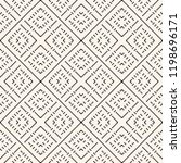 vector geometric traditional... | Shutterstock .eps vector #1198696171