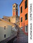 clock tower at old venetian...