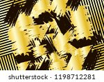 background with black and gold  ... | Shutterstock .eps vector #1198712281