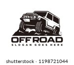 off road car logo template | Shutterstock .eps vector #1198721044