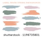 colored label brush stroke... | Shutterstock .eps vector #1198735801