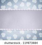 retro abstract background.... | Shutterstock . vector #119873884