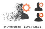 migraine icon in disappearing ...   Shutterstock .eps vector #1198742611