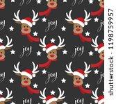 Red Nosed Reindeer Wearing...