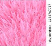 pink synthetic fur vector... | Shutterstock .eps vector #1198767787