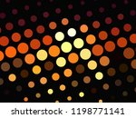 bright glowing circles on dark... | Shutterstock .eps vector #1198771141