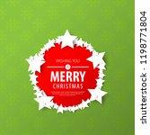 stars for christmas layout... | Shutterstock .eps vector #1198771804