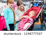 close up of happy girl looking... | Shutterstock . vector #1198777537