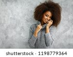 portrait of young african... | Shutterstock . vector #1198779364