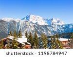 Courchevel Ski Resort In Alps...