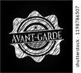 avant garde written on a...   Shutterstock .eps vector #1198786507
