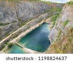limestone quarry of velka... | Shutterstock . vector #1198824637