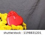 autumn flowers in a pot. yellow ...   Shutterstock . vector #1198831201