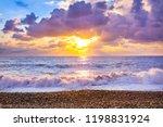 Beautiful Sea Landscape With A...