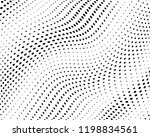 wavy dotted lines background.... | Shutterstock .eps vector #1198834561
