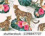 beautiful seamless vector...   Shutterstock .eps vector #1198847737
