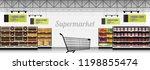 interior scene of modern... | Shutterstock .eps vector #1198855474