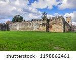 pisa city walls  erected in... | Shutterstock . vector #1198862461