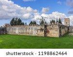 pisa city walls  erected in... | Shutterstock . vector #1198862464