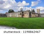 pisa city walls  erected in... | Shutterstock . vector #1198862467