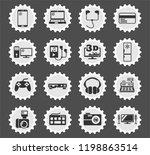electronics supermarket web... | Shutterstock .eps vector #1198863514