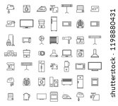 set of different elements of... | Shutterstock . vector #1198880431