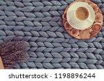 autumn season concept of cozy... | Shutterstock . vector #1198896244