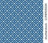 oriental traditional pattern.... | Shutterstock .eps vector #1198905034