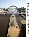 newcastle upon tyne  england ... | Shutterstock . vector #1198911064