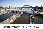 newcastle upon tyne  england ... | Shutterstock . vector #1198911067