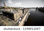 newcastle upon tyne  england ... | Shutterstock . vector #1198911097