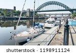 newcastle upon tyne  england ... | Shutterstock . vector #1198911124