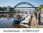 newcastle upon tyne  england ... | Shutterstock . vector #1198911127