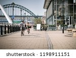 newcastle upon tyne  england ... | Shutterstock . vector #1198911151