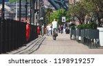 newcastle upon tyne  england ... | Shutterstock . vector #1198919257