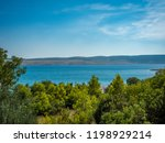 coastline at adriatic sea ... | Shutterstock . vector #1198929214