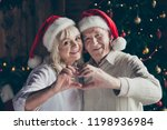 portrait of two nice cheerful... | Shutterstock . vector #1198936984